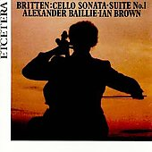 Britten: Cello Works Vol 1 & 2 / Baillie, Brown