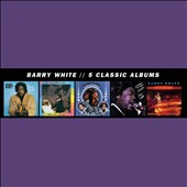 Barry White: 5 Classic Albums [9/30]