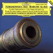 Tchaikovsky: 1812, Marche Slave, etc / Järvi, Gothenburg SO