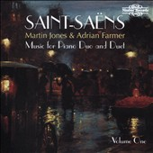 Saint-Saëns: Music for Piano Duo & Duet, Vol. 1 / Martin Jones, piano; Adrian Farmer, piano