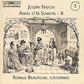 Haydn: Keyboard Sonatas Vol 5 - Anno 1776 II / Brautigam