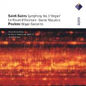 Saint-Sa&euml;ns: Symphony no 3, etc;  Poulenc / Martinon, et al