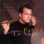 Beethoven, Schubert, Weber / Emmanuel Pahud, Eric Le Sage