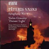 Vasks: Symphony no 2, Violin Concerto / Storgards, et al