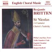 English Choral Music - Britten: St. Nicolas, etc / Bedford