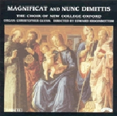 Magnificat and Nunc Dimittis / Choir of New College Oxford