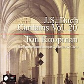 Bach: Cantatas Vol 20 / Ton Koopman, et al