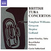 British Tuba Concertos / Gourlay, Sutherland, et al