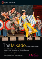 Gilbert And Sullivan: The Mikado / Butel, Breen, Fiebig, Fyfe, Dark [DVD]