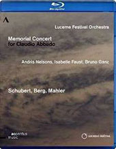 Memorial Concert for Claudio Abbado - excerpts from Beethoven: Symphony no 3; Schubert