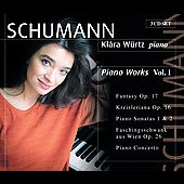 Schumann: Piano Works Vol 1 / Kl&aacute;ra W&uuml;rtz