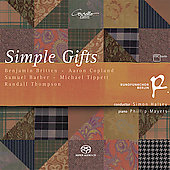 Copland: Simple Gifts / Halsey, et al