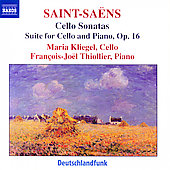 Saint-Saëns: Cello Sonatas no 1 & 2, etc / Kliegel, et al