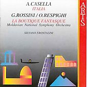 Casella: Italia;  Respighi: La Boutique / Frontalini, et al