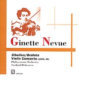 Brahms, Sibelius, Ravel, Scarlatescu / Ginette Neveu, et al