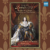 Music for Louis XV - Michel de la Barre / Solum, Wyton