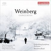 Mieczyslaw Weinberg: Concertos, Fantasia for Cello Op 52, etc / Svedlund, Gunnarsson, Claesson, Jonh&auml;ll, et al
