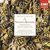 British Composers - Vaughan Williams: Symphonies no 4-6, Oboe Concerto, etc / Gibson, Royal PO, et al