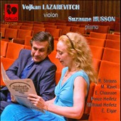 Lazarevitch and Husson play Strauss, Ravel, Elgar