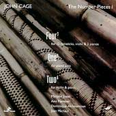 John Cage Edition Vol 12 - The Number Pieces Vol 1 / Joste