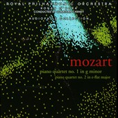 Mozart: Piano Quartets Nos. 1 & 2 / Ronan O'Hora, piano; Royal PO members