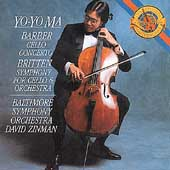 Barber, Britten: Cello Concertos / Ma, Zinman, Baltimore SO