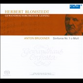 Bruckner: Symphony No. 1 / Herbert Blomstedt - Leipzig Gewandhaus Orch.