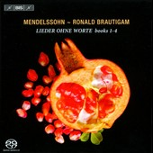 Mendelssohn:Songs without Words, Books I-V / Ronald Brautigam, piano (after an instrument by Pleyel 1830)