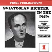 Sviatoslav Richter in the 1950s Vol 1