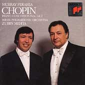 Chopin: Piano Concertos 1 & 2 / Perahia, Mehta, Israel PO