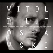 Witold Lutoslawski: Opera Omnia, Vol. 5 - covering track and trailblazing: works for orchestra / Agata Zubel, soprano