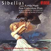 Sibelius: Karelia Music, etc / Ollila, Virkkala, et al