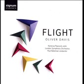 Music of Oliver Davis (b.1972): 'Flight' / Kerenza Peacock, violin; London SO, Bateman