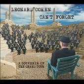 Leonard Cohen: Can't Forget: A Souvenir of the Grand Tour [Digipak]