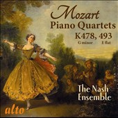 Mozart: Piano Quartet in G minor, K478; Piano Quartet in E flat, K493 / The Nash Ensemble