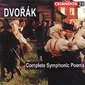 Dvor&aacute;k: Complete Symphonic Poems / J&auml;rvi, Royal Scottish NO