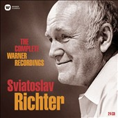 Sviatoslav Richter: The Complete Warner Recordings / Sviatoslav Richter, piano; Various artists [24 CDs]