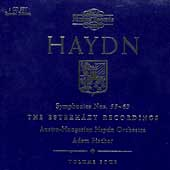 Haydn: Symphonies 55-69 (Vol 4) / Fischer, Haydn Orchestra