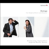 Dialogs for English Horn and Klavier; Works by Faure; Merkle; Messiaen; Pasculli; Piazzolla; Rachmaninov; Schulhoff; Schumann; et al / Michael Sieg, english horn; Angelika Merkle, klavier