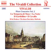 Vivaldi Collection - Flute Concertos Vol 2 / Drahos, et al