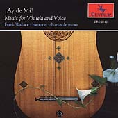 ¡Aye de Mi! - Music for Vihuela & Voice / Frank Wallace