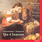 Simpson: The Four Seasons / Les Voix Humaines