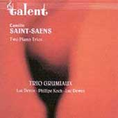 Saint-Sa&#235;ns: 2 Piano Trios / Trio Grumiaux
