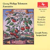 Telemann: Complete Works For Keyboard Vol 1 / John Payne