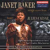 Opera in English - J. Baker sings Scenes from Julius Caesar