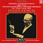 Pfitzner: Von Deutscher Seele, etc / Jochum, Ludwig, Ebers