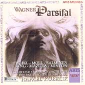 Wagner: Parsifal / Kubelik, Weikl, Moll, Minton, et al