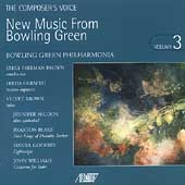 The Composer's Voice - New Music From Bowling Green Vol 3