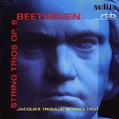 Beethoven: String Trios Op. 9 / Jacques Thibaud Trio
