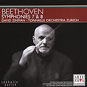 Beethoven: Symphonies no 7 & 8 / Zinman, Tonhalle Orchestra
